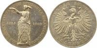 Taler 1862 Frankfurt-Stadt  Winz. Henkelspur, sehr schön  65,00 EUR  zzgl. 4,00 EUR Versand
