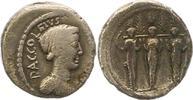 Denar 43 v. Chr Republik P.Accoleius Lariscolus 43 v. Chr.. Fast sehr s... 95,00 EUR  zzgl. 4,00 EUR Versand
