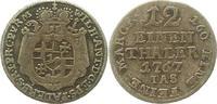 1/12 Taler 1767 Paderborn, Bistum Wilhelm Anton von Asseburg 1763-1782.... 16,00 EUR  zzgl. 4,00 EUR Versand