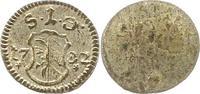 Einseitiger Pfennig 1782 Nürnberg-Stadt  Vorzüglich  18,00 EUR  zzgl. 4,00 EUR Versand