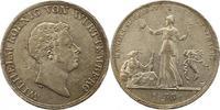 Kronentaler 1833 Württemberg Wilhelm I. 1816-1864. Winz. Fassungsspuure... 85,00 EUR  zzgl. 4,00 EUR Versand