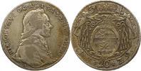 20 Kreuzer 1778 Salzburg Hieronymus Graf Colloredo 1772-1803. Justiert,... 32,00 EUR  zzgl. 4,00 EUR Versand