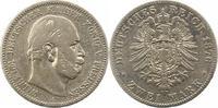 2 Mark 1876  A Preußen Wilhelm I. 1861-1888. Schön  15,00 EUR  zzgl. 4,00 EUR Versand