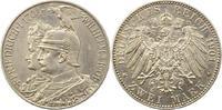 2 Mark 1901 Preußen Wilhelm II. 1888-1918. Schrötlingsfehler, berieben,... 12,00 EUR  zzgl. 4,00 EUR Versand