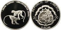 10 Dollar 2000 Liberia Republik. Polierte Platte  30,00 EUR  zzgl. 4,00 EUR Versand