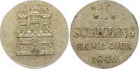 Schilling 1846 Hamburg, Stadt  Sehr schön +  14,00 EUR  zzgl. 4,00 EUR Versand