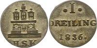 Dreiling 1836 Hamburg, Stadt  Sehr schön - vorzüglich  12,00 EUR  zzgl. 4,00 EUR Versand