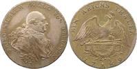 Taler 1789  A Brandenburg-Preußen Friedrich Wilhelm II. 1786-1797. Sehr... 195,00 EUR  zzgl. 4,00 EUR Versand