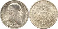 2 Mark 1902 Baden Friedrich I. 1856-1907. Prachtexemplar. Fast Stempelg... 38,00 EUR  zzgl. 4,00 EUR Versand