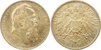 2 Mark 1911  D Bayern Luitpold. Fast Stempelglanz  36,00 EUR  zzgl. 4,00 EUR Versand