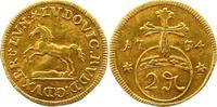 Goldabschlag zu 1/2 Dukat von den Stempeln des 2 P 1734 Braunschweig-Wo... 775,00 EUR kostenloser Versand