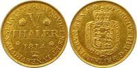 5 Taler Gold 1813  TW Braunschweig-Calenberg-Hannover Georg III. 1760-1... 795,00 EUR kostenloser Versand