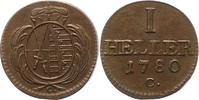Heller 1780  C Sachsen-Albertinische Linie Friedrich August III. 1763-1... 42,00 EUR  zzgl. 4,00 EUR Versand