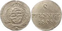 8 Pfennig 1808  H Sachsen-Albertinische Linie Friedrich August I. 1806-... 32,00 EUR  zzgl. 4,00 EUR Versand