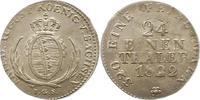1/24 Taler 1822 Sachsen-Albertinische Linie Friedrich August I. 1806-18... 85,00 EUR  zzgl. 4,00 EUR Versand