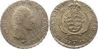 1/6 Taler 1809 Sachsen-Albertinische Linie Friedrich August I. 1806-182... 45,00 EUR  zzgl. 4,00 EUR Versand