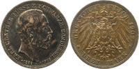 3 Mark 1909  A Schwarzburg-Sondershausen Karl Günther 1880-1909. Dunkle... 125,00 EUR  zzgl. 4,00 EUR Versand