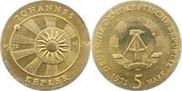 5 Mark 1971 Deutsche Demokratische Republik  Fast Stempelglanz  12,00 EUR  zzgl. 4,00 EUR Versand