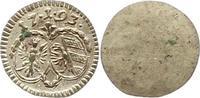 Einseitiger Pfennig 1793 Nürnberg-Stadt  Vorzüglich - Stempelglanz  22,00 EUR  zzgl. 4,00 EUR Versand