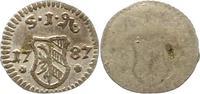 Einseitiger Pfennig 1787 Nürnberg-Stadt  Fast vorzüglich  42,00 EUR  zzgl. 4,00 EUR Versand
