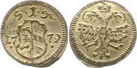 Pfennig 1779 Nürnberg-Stadt  Vorzüglich +  22,00 EUR  zzgl. 4,00 EUR Versand