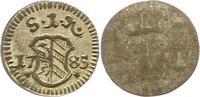 Einseitiger Pfennig 1785 Nürnberg-Stadt  Vorzüglich +  25,00 EUR  zzgl. 4,00 EUR Versand