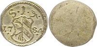 Einseitiger Pfennig 1784 Nürnberg-Stadt  Vorzüglich - Stempelglanz  30,00 EUR  zzgl. 4,00 EUR Versand