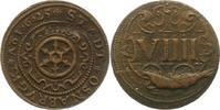 9 Pfennig 1625 Osnabrück-Stadt  Stempelfehler, sehr schön +  75,00 EUR  zzgl. 4,00 EUR Versand