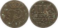 Cu 1/4 Stüber 1 1753  D Brandenburg-Preußen Friedrich II. 1740-1786. Se... 32,00 EUR  zzgl. 4,00 EUR Versand