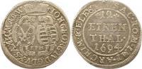 1/12 Taler 1694 Sachsen-Albertinische Linie Johann Georg IV. 1691-1694.... 12,00 EUR  zzgl. 4,00 EUR Versand