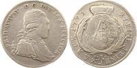 1/3 Taler 1793 Sachsen-Albertinische Linie Friedrich August III. 1763-1... 18,00 EUR  zzgl. 4,00 EUR Versand