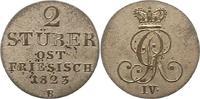 2 Stüber 1 1823  B Braunschweig-Calenberg-Hannover Georg IV. 1820-1830.... 135,00 EUR  zzgl. 4,00 EUR Versand