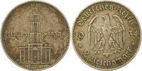 2 Mark 1934  A Drittes Reich  Sehr schön  10,00 EUR  zzgl. 4,00 EUR Versand