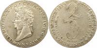 2/3 Taler 1829  C Braunschweig-Calenberg-Hannover Georg IV. 1820-1830. ... 275,00 EUR kostenloser Versand