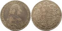 Taler 1783 Eichstätt, Bistum Johann Anton Freiherr v. Zehmen 1781-1790.... 245,00 EUR  zzgl. 4,00 EUR Versand