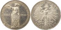 Taler 1862 Frankfurt-Stadt  Randfehler, sehr schön  80,00 EUR  zzgl. 4,00 EUR Versand