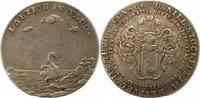 Silbermedaille 1739 Hamburg, Stadt  Sehr schön  85,00 EUR  zzgl. 4,00 EUR Versand