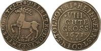 8 Gute Groschen 1671  IB Stolberg-Wernigerode Heinrich Ernst 1645-1672.... 95,00 EUR  zzgl. 4,00 EUR Versand