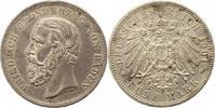 5 Mark 1901  G Baden Friedrich I. 1856-1907. Winzige Randfehler, fast v... 185,00 EUR  zzgl. 4,00 EUR Versand