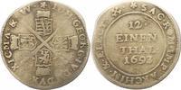 1/12 Taler 1693  IK Sachsen-Albertinische Linie Johann Georg IV. 1691-1... 17,00 EUR  zzgl. 4,00 EUR Versand