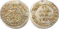 1/12 Taler 1694  IK Sachsen-Albertinische Linie Johann Georg IV. 1691-1... 35,00 EUR  zzgl. 4,00 EUR Versand