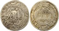 1/12 Taler 1694 Sachsen-Albertinische Linie Johann Georg IV. 1691-1694.... 10,00 EUR  zzgl. 4,00 EUR Versand