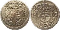 Pfennig 1693  IK Sachsen-Albertinische Linie Johann Georg IV. 1691-1694... 32,00 EUR  zzgl. 4,00 EUR Versand