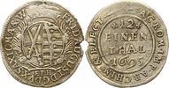 1/12 Taler 1695 Sachsen-Albertinische Linie Friedrich August I. 1694-17... 12,00 EUR  zzgl. 4,00 EUR Versand