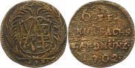 6 Pfennig Landmünze (Roter Seufzer) 1 1702 Sachsen-Albertinische Linie ... 18,00 EUR  zzgl. 4,00 EUR Versand