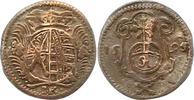 Pfennig 1695  IK Sachsen-Albertinische Linie Friedrich August I. 1694-1... 20,00 EUR  zzgl. 4,00 EUR Versand