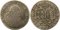 1/6 Taler 1763 Sachsen-Albertinische Linie Friedrich August II. 1733-17... 35,00 EUR  zzgl. 4,00 EUR Versand