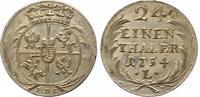 1/24 Taler 1754 Sachsen-Albertinische Linie Friedrich August II. 1733-1... 85,00 EUR  zzgl. 4,00 EUR Versand