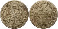 1/24 Taler 1763 Sachsen-Albertinische Linie Friedrich August II. 1733-1... 30,00 EUR  zzgl. 4,00 EUR Versand