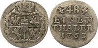 1/48 Taler 1763 Sachsen-Albertinische Linie Friedrich August II. 1733-1... 15,00 EUR  zzgl. 4,00 EUR Versand